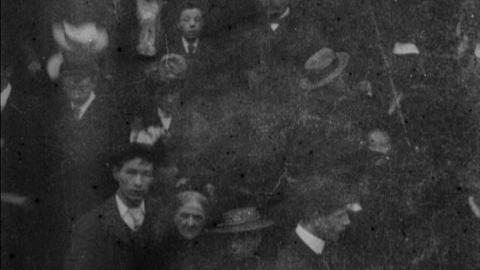 Congregation Leaving St. Mary's Pro-Cathedral, Dublin (1901)