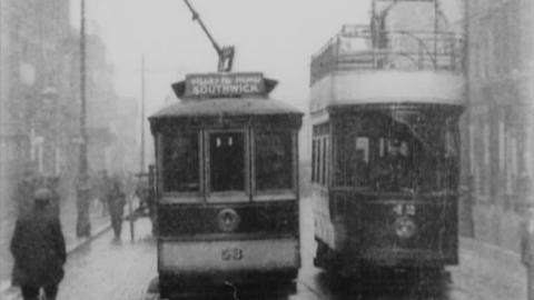 Tram Ride through Sunderland (1904)