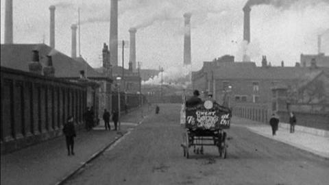 Workers Leaving the Jute Works, Barrow (1902)