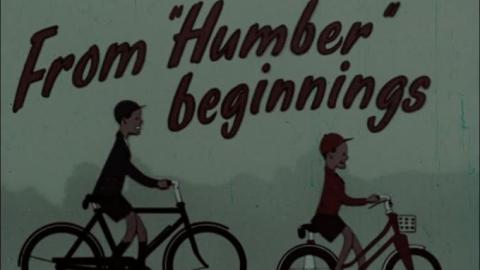 Cinema Adverts for Humber, Raleigh and Rudge Bicycles