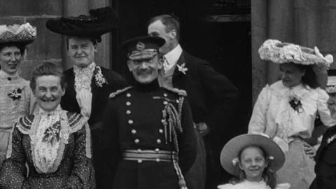 Baden-Powell Opening Accrington's Ambulance Hall
