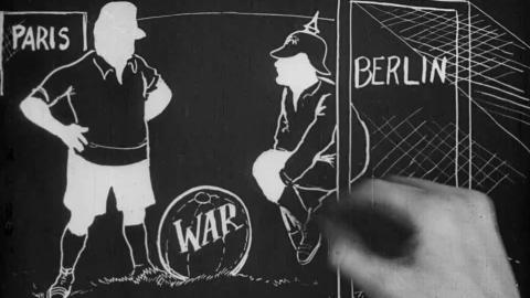 First World War Cartoon - Joffre