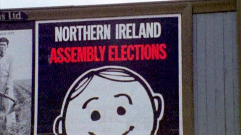 Ballot Box Not the Bomb - Ulster Assembly Elections