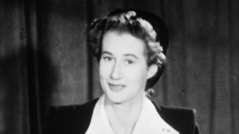 Lady Tweedsmuir, M.P. In a Brief Talk about Politics