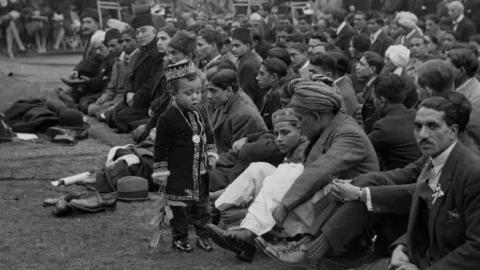 Moslem Festival at Woking