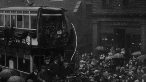 Opening of the Electric Tramway into Elland