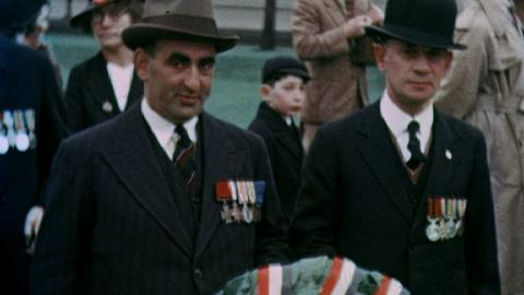 Jewish Ex-Service Men's Coronation Parade 1