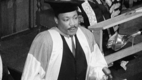Martin Luther King Honorary Degree Ceremony at Newcastle University