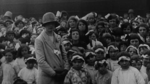 Opening of the St. Aloysius Infant School, Hebburn