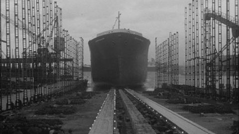 Launching of M.V. British Cavalier