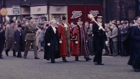 Oldham Mayoral Procession