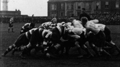 Hartlepool Rovers' Diamond Jubilee Rugby Match with Bob Oakes