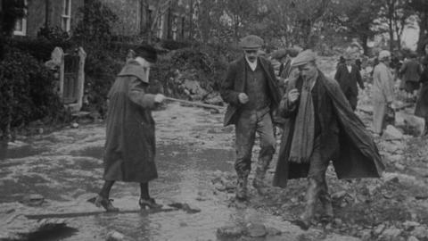Nov. 2nd 1925. The Dolgarrog Disaster