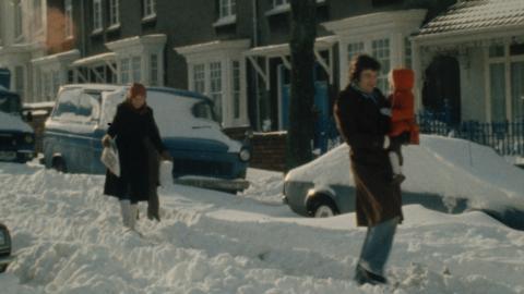 Snow Llanelli 1982