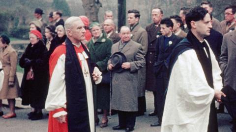 St Patrick's Day Pilgrimage Downpatrick (1959)