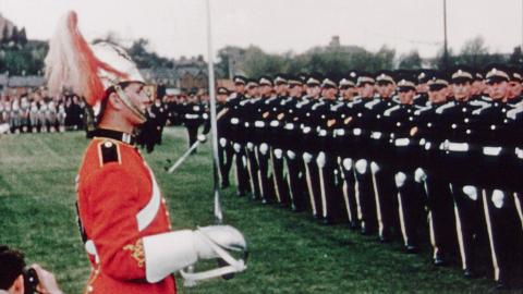 State visit of Leopold III the former King of Belgium