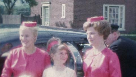 Boulter Family Films: Bridesmaids In Pink, Stratford (1963)