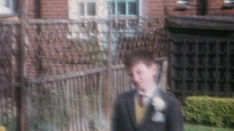 Boulter Family Films: Page Boy And Wedding, Becontree and Ilford (1964)