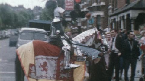 Davis Family Films: Dympna & Richard, First Film of Stanhope Gardens, Haringey (1965)