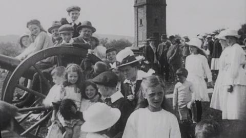 Peace Celebrations at Haslingden July 19th 1919
