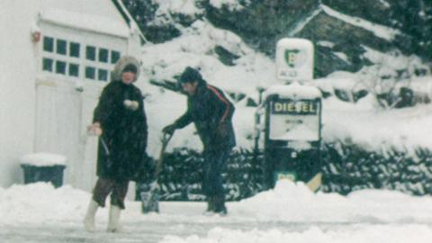 Barnstaple snow