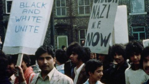 Pakistani March, Bradford April 1979