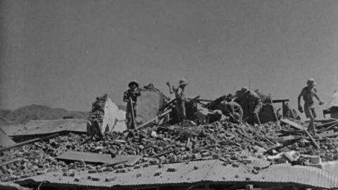 Quetta Earthquake (Universal Talking News No. 515)