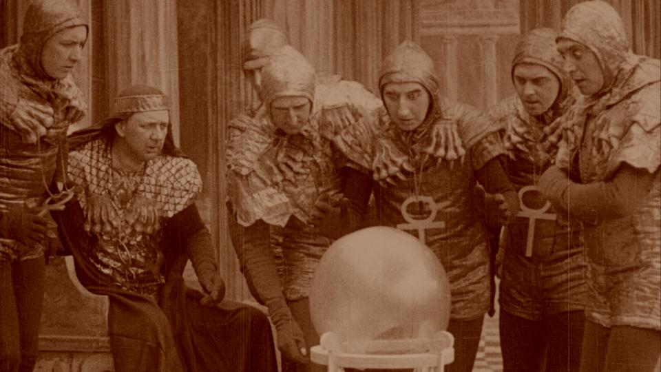 Image result for A Message from Mars (1913)