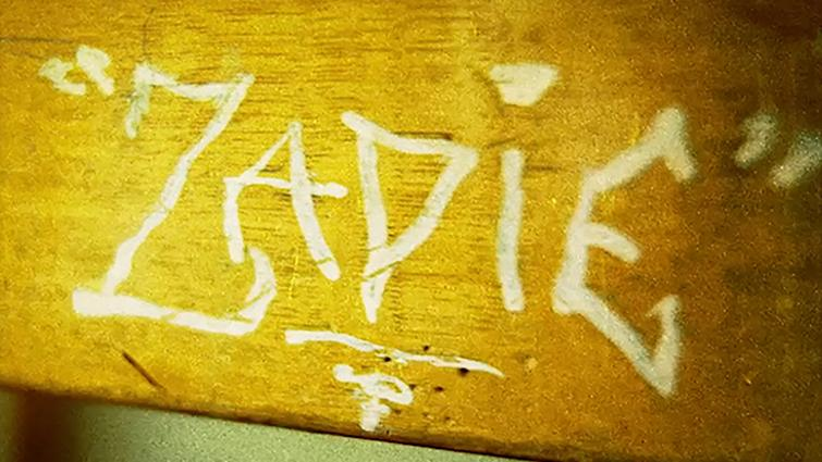 Zadie Smith's childhood desk