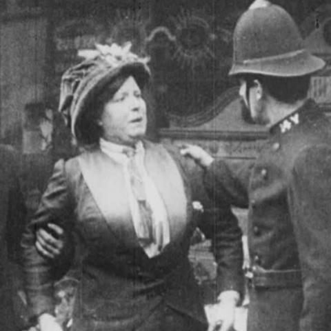 Suffragettes on Film