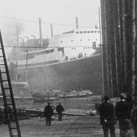 Shipbuilding on Film - Professor Hugh Murphy